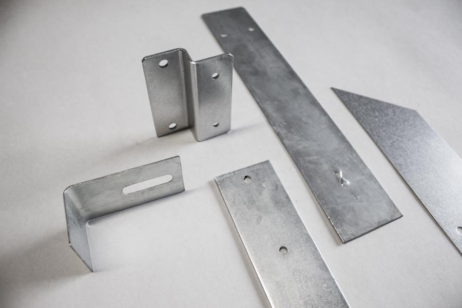 Customized stamped metal parts